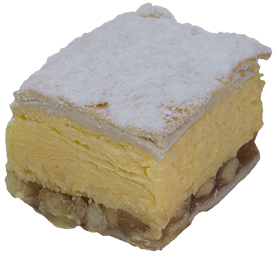 Apple Custard Slice  Individual  Delights Slices