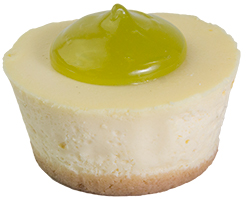 Baby Lime Cheesecake  Individual  Bites Baby Cakes