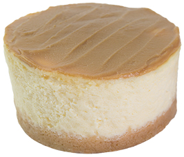 Classic Salted Caramel Cheesecake  Individual  Delights Classics