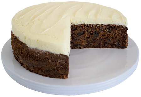 Gluten Free Carrot And Pineapple Cake 10 Inch  Large  Gateaux Fruit Cakes