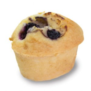 Gluten Free Blueberry Friand  Individual  Bites Friands