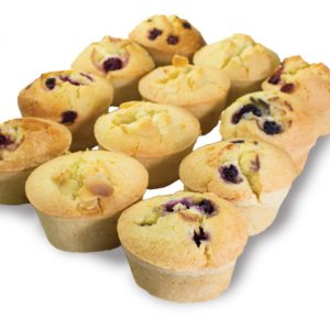 Gluten Free Mixed Friands  Individual  Bites Friands