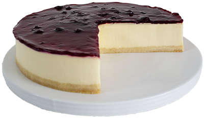 Gluten Free Blueberry Cheesecake  Large  Gateaux Cheesecakes