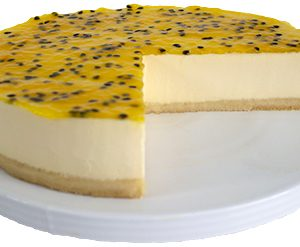 Gluten Free Passionfruit Cheesecake  Large  Gateaux Cheesecakes