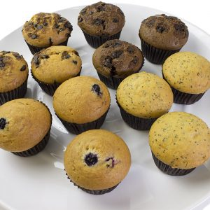 Mini Mixed Mufin  Individual  Delights Muffins