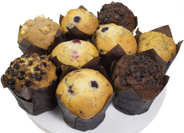 Mixed Muffin  Individual  Delights Muffins