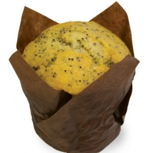 Orange Poppyseed Muffin  Individual  Delights Muffins