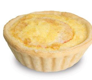 Ham And Tomato Quiche 10cm  Large  Savoury Quiche
