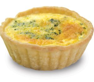 Spinach And Feta Quiche 10cm  Large  Savoury Quiche