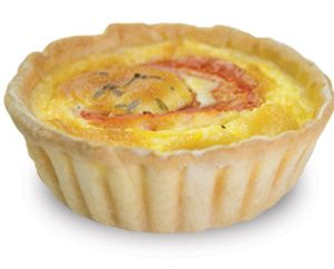 Tomato And Chives Quiche 10cm  Large  Savoury Quiche