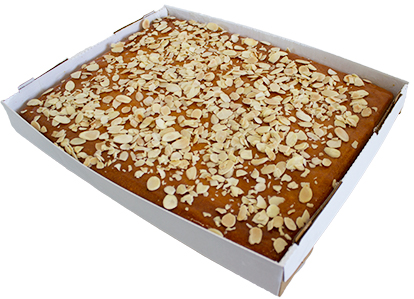 Orange Almond Flourless Slab  Large  Bakes Slabs