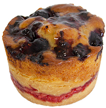Mixed Berry And Custard Tartlet  Individual  Treats Tartlets