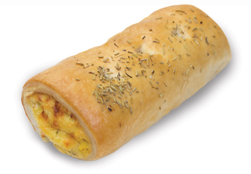 Roasted Pumpkin Rosemary And Cheese Roll  Large  Savoury Rolls